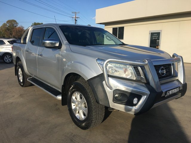 Used Nissan Navara D23 S2 ST, 2017 Nissan Navara D23 S2 ST Silver 7 Speed Sports Automatic Utility