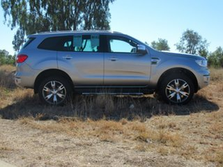 2017 Ford Everest UA Titanium 4WD Silver 6 Speed Sports Automatic Wagon.