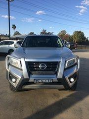 2017 Nissan Navara D23 S2 ST Silver 7 Speed Sports Automatic Utility.