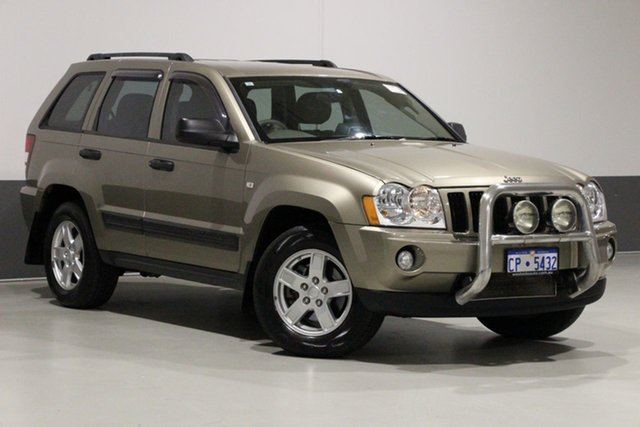 Used Jeep Grand Cherokee WH Laredo (4x4), 2006 Jeep Grand Cherokee WH Laredo (4x4) Khaki 5 Speed Automatic Wagon