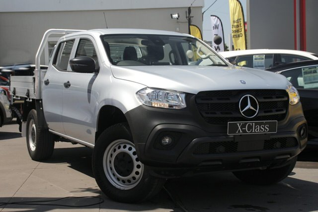 Used Mercedes-Benz X-Class 470 X250d 4MATIC Pure, 2018 Mercedes-Benz X-Class 470 X250d 4MATIC Pure Silver 6 Speed Manual Utility