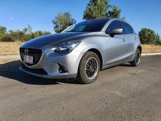 2017 Mazda 2 DJ2HAA Neo SKYACTIV-Drive Silver 6 Speed Sports Automatic Hatchback.