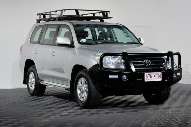 Used Toyota Landcruiser VDJ200R MY10 GXL, 2011 Toyota Landcruiser VDJ200R MY10 GXL Silver 6 speed Automatic Wagon