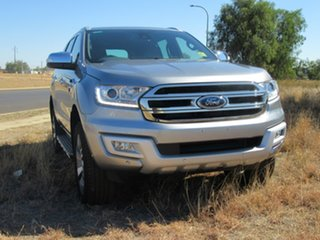2017 Ford Everest UA Titanium 4WD Silver 6 Speed Sports Automatic Wagon
