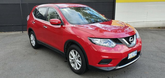 Used Nissan X-Trail T32 ST X-tronic 2WD, 2016 Nissan X-Trail T32 ST X-tronic 2WD Burning Red 7 Speed Constant Variable Wagon