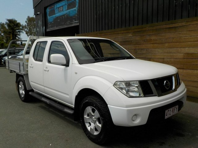 Used Nissan Navara D40 ST, 2010 Nissan Navara D40 ST White 6 Speed Manual Utility