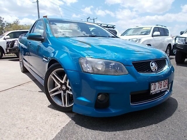 Used Holden Ute VE II MY12 SV6, 2012 Holden Ute VE II MY12 SV6 Blue 6 Speed Sports Automatic Utility
