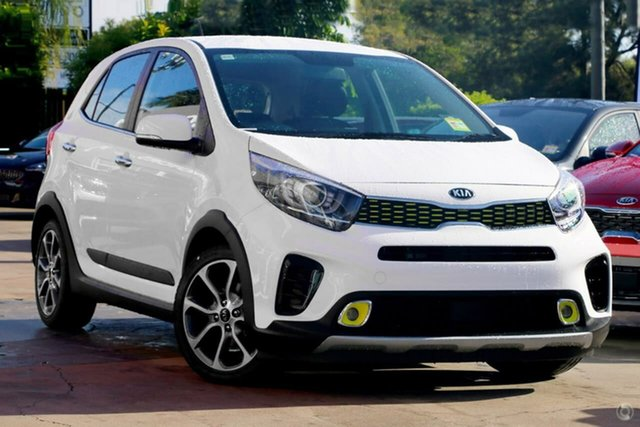 Demo Kia Picanto JA MY19 X-Line, 2019 Kia Picanto JA MY19 X-Line White 4 Speed Automatic Hatchback