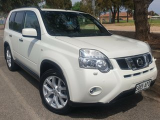 2012 Nissan X-Trail T31 Series IV TI White 1 Speed Constant Variable Wagon.
