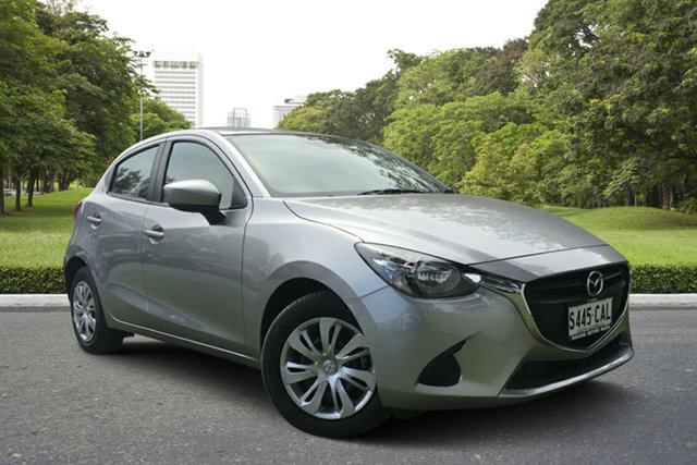 Demo Mazda 2 DJ2HAA Neo SKYACTIV-Drive, 2019 Mazda 2 DJ2HAA Neo SKYACTIV-Drive Aluminium 6 Speed Sports Automatic Hatchback