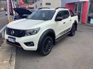 2019 Nissan Navara D23 S4 MY19 N-TREK White Diamond 7 Speed Sports Automatic Utility.