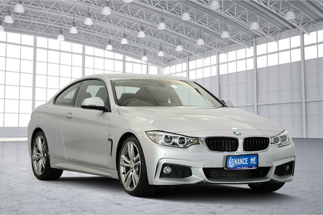 Used BMW 4 Series F32 428i M Sport, 2013 BMW 4 Series F32 428i M Sport Silver 8 Speed Sports Automatic Coupe