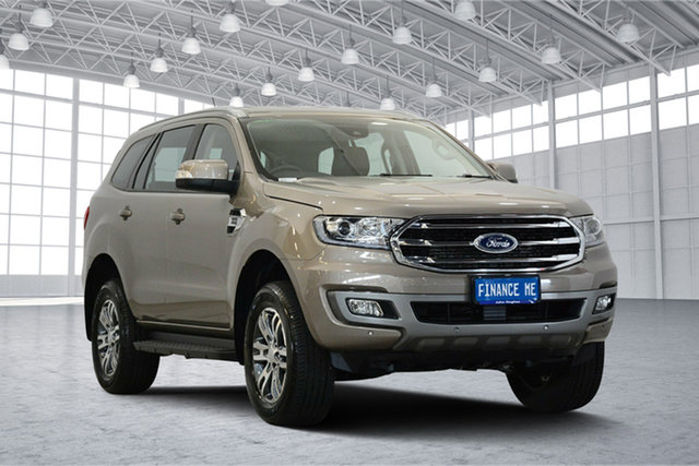 Used Ford Everest UA II 2019.00MY Trend 4WD, 2018 Ford Everest UA II 2019.00MY Trend 4WD Diffused Silver 10 Speed Sports Automatic Wagon