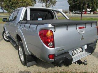 2015 Mitsubishi Triton MN MY15 GLX-R Double Cab Silver 5 Speed Manual Utility