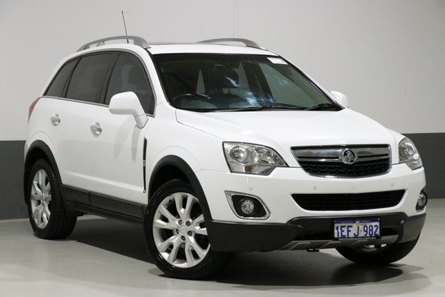Used Holden Captiva CG MY15 5 LTZ (AWD), 2015 Holden Captiva CG MY15 5 LTZ (AWD) White 6 Speed Automatic Wagon
