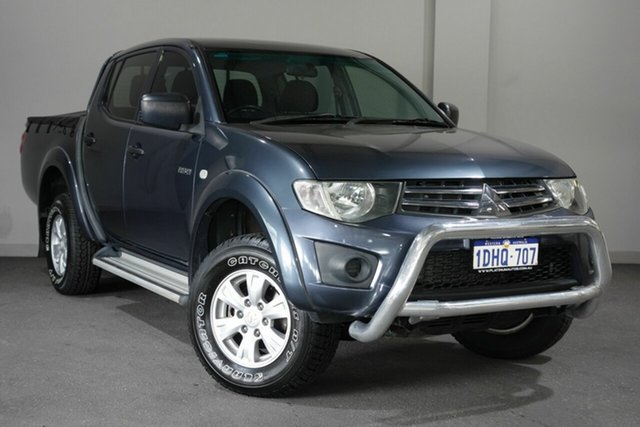Used Mitsubishi Triton MN MY10 GL-R Double Cab 4x2, 2010 Mitsubishi Triton MN MY10 GL-R Double Cab 4x2 Grey 5 Speed Manual Utility