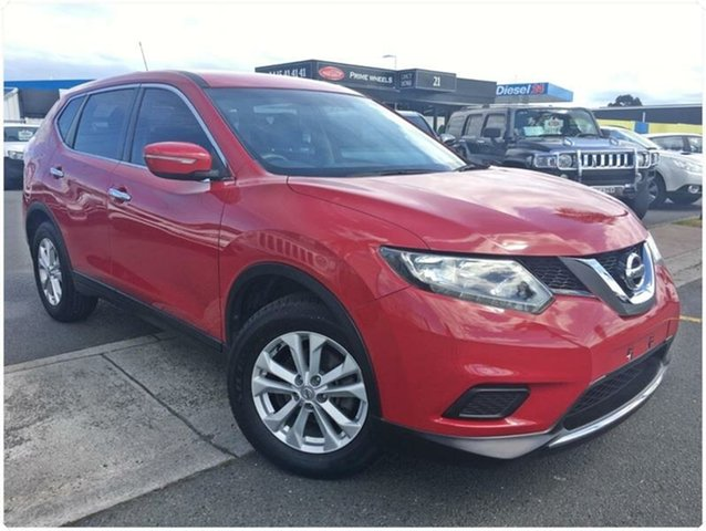 Used Nissan X-Trail T32 ST, 2014 Nissan X-Trail T32 ST Red Constant Variable Wagon