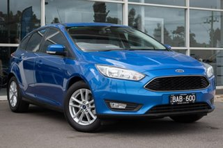 2016 Ford Focus LZ Trend Winning Blue 6 Speed Manual Hatchback.