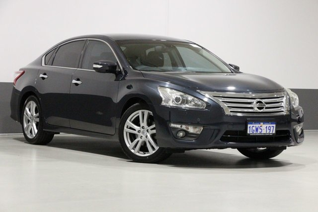Used Nissan Altima L33 TI-S, 2015 Nissan Altima L33 TI-S Grey Continuous Variable Sedan