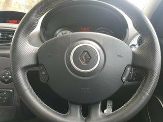 2012 Renault Clio C85 MY12 Sport 200 Cup Black 6 Speed Manual Hatchback
