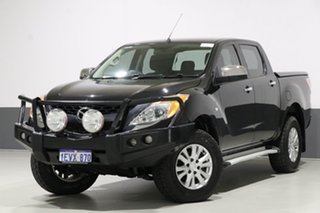 2015 Mazda BT-50 MY13 XTR (4x4) Black 6 Speed Automatic Dual Cab Utility.