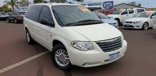 2007 Chrysler Grand Voyager RG 4th Gen MY07 LX White 4 Speed Automatic Wagon.