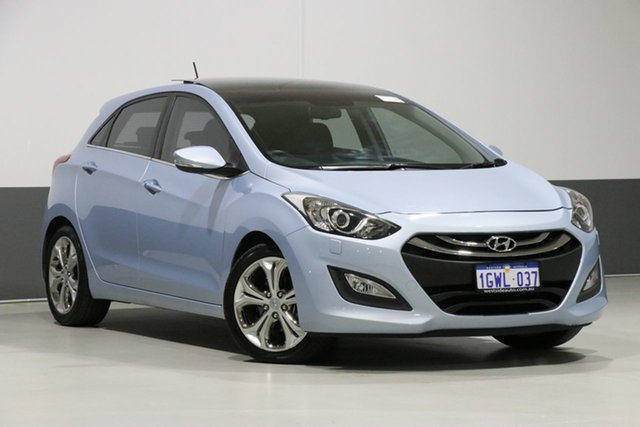 Used Hyundai i30 GD Premium, 2012 Hyundai i30 GD Premium Blue 6 Speed Automatic Hatchback