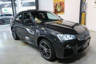2015 BMW X4 F26 xDrive35d Coupe Steptronic Grey 8 Speed Automatic Wagon.