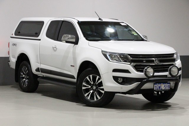 Used Holden Colorado RG MY17 LTZ (4x4), 2017 Holden Colorado RG MY17 LTZ (4x4) White 6 Speed Automatic Space Cab Pickup