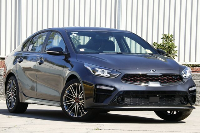 New Kia Cerato BD MY19 GT DCT, 2019 Kia Cerato BD MY19 GT DCT Platinum Graphite 7 Speed Sports Automatic Dual Clutch Sedan