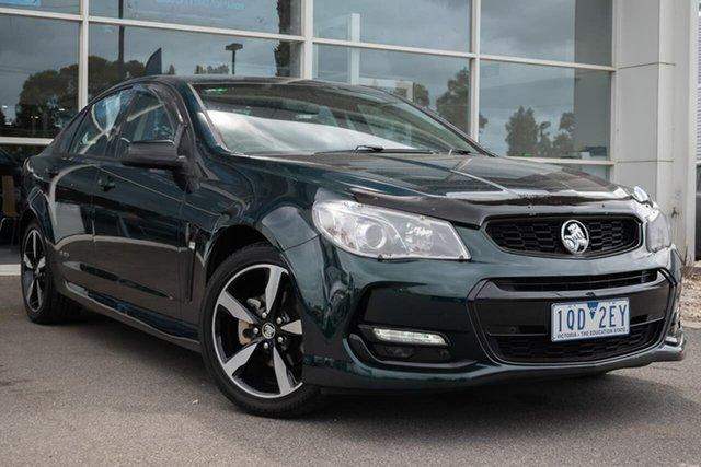 Used Holden Commodore VF II MY16 SV6 Black, 2016 Holden Commodore VF II MY16 SV6 Black 6 Speed Sports Automatic Sedan