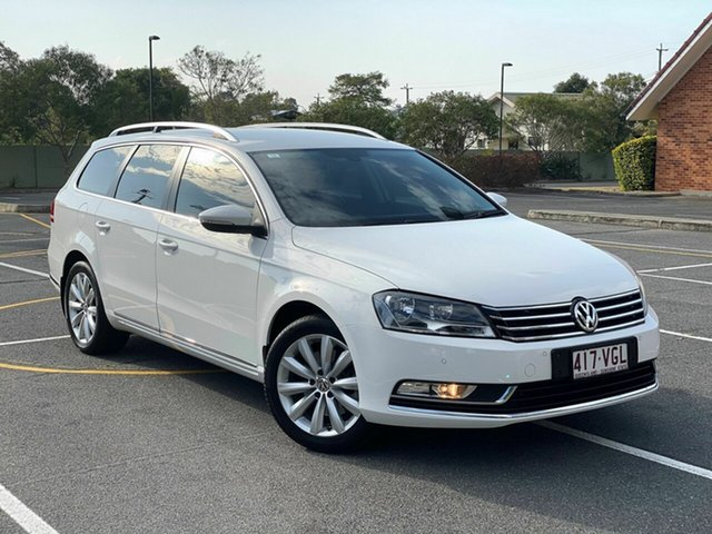 Used Volkswagen Passat Type 3C MY15 118TSI DSG, 2014 Volkswagen Passat Type 3C MY15 118TSI DSG White 7 Speed Sports Automatic Dual Clutch Wagon