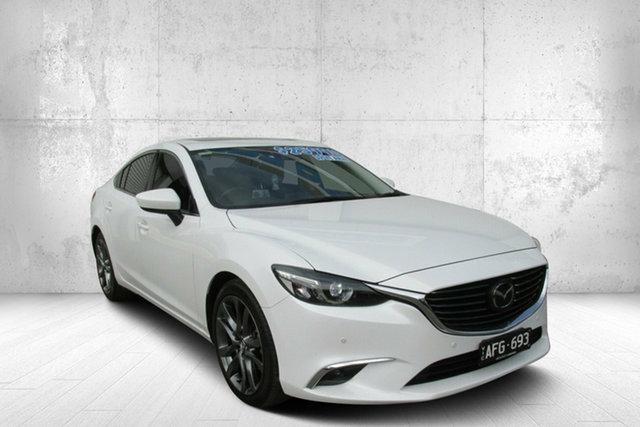 Used Mazda 6 GJ1032 Atenza SKYACTIV-Drive, 2015 Mazda 6 Atenza Atenza SKYACTIV-Drive White 6 Speed Automatic Sedan
