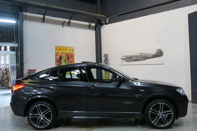 Used BMW X4 F26 xDrive35d Coupe Steptronic, 2015 BMW X4 F26 xDrive35d Coupe Steptronic Grey 8 Speed Automatic Wagon