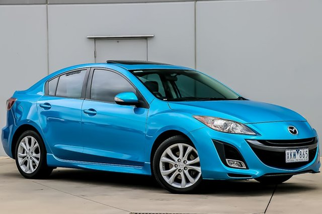 Used Mazda 3 BL10L1 SP25 Activematic, 2009 Mazda 3 BL10L1 SP25 Activematic Blue 5 Speed Sports Automatic Sedan