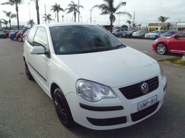 Used Volkswagen Polo 9N MY2007 Club, 2007 Volkswagen Polo 9N MY2007 Club White 4 Speed Automatic Hatchback