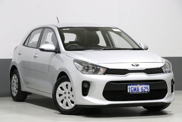 Used Kia Rio YB MY18 S, 2018 Kia Rio YB MY18 S Silver 4 Speed Automatic Hatchback