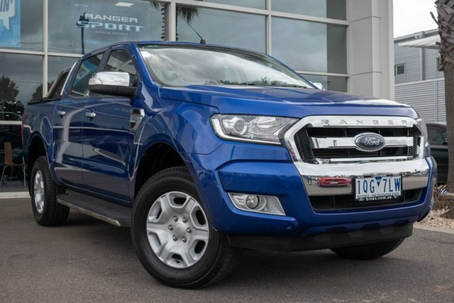 Used Ford Ranger PX XLT Double Cab, 2015 Ford Ranger PX XLT Double Cab 6 Speed Sports Automatic Utility