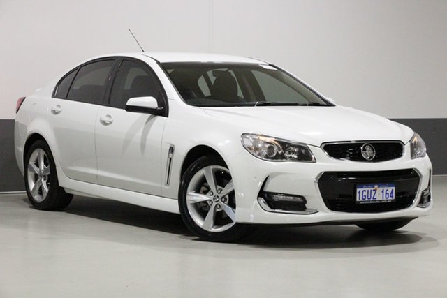 Used Holden Commodore VF II SV6, 2016 Holden Commodore VF II SV6 White 6 Speed Automatic Sedan
