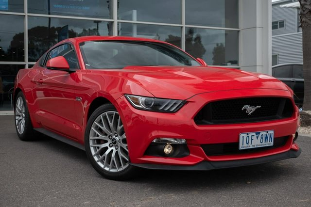 Used Ford Mustang FM 2017MY GT Fastback SelectShift, 2017 Ford Mustang FM 2017MY GT Fastback SelectShift 6 Speed Sports Automatic Fastback
