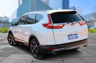 2019 Honda CR-V RW MY19 VTi-LX 4WD White Orchid 1 Speed Constant Variable Wagon.