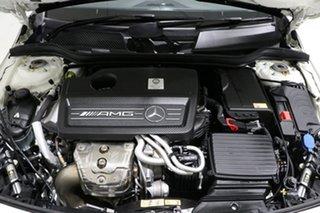 2014 Mercedes-Benz A45 176 MY14 AMG White 7 Speed Auto Dual Clutch Hatchback