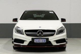 2014 Mercedes-Benz A45 176 MY14 AMG White 7 Speed Auto Dual Clutch Hatchback.