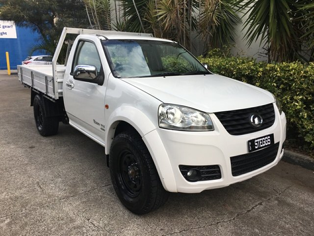Used Great Wall V200 K2 (4x4), 2012 Great Wall V200 K2 (4x4) White 6 Speed Manual Cab Chassis