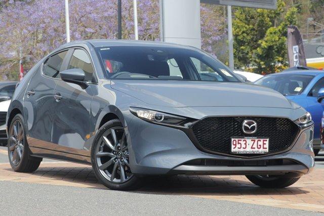 Demo Mazda 3 BP2H7A G20 SKYACTIV-Drive Evolve, 2019 Mazda 3 BP2H7A G20 SKYACTIV-Drive Evolve Polymetal Grey 6 Speed Sports Automatic Hatchback