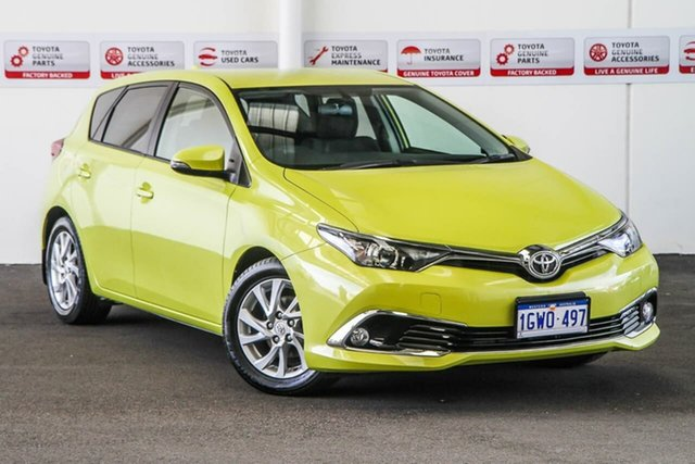 Used Toyota Corolla ZRE182R MY17 Ascent Sport, 2017 Toyota Corolla ZRE182R MY17 Ascent Sport Citrus 7 Speed CVT Auto Sequential Hatchback