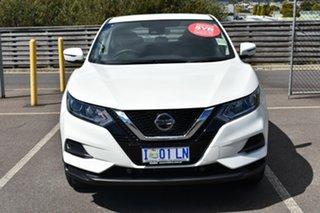 2019 Nissan Qashqai J11 Series 2 ST X-tronic Ivory Pearl 1 Speed Constant Variable Wagon.