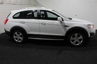 2014 Holden Captiva CG MY14 7 AWD LTZ Summit White 6 Speed Sports Automatic Wagon.