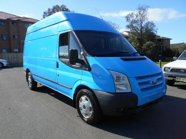 Used Ford Transit VM MY12 Update High (LWB), 2012 Ford Transit VM MY12 Update High (LWB) Blue 6 Speed Manual Van