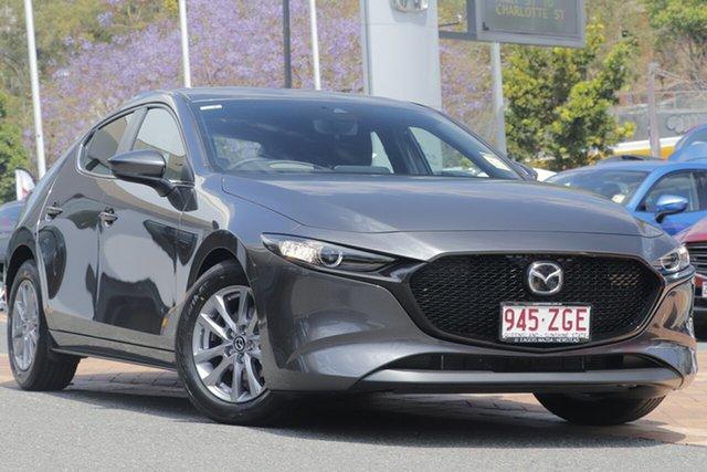 Demo Mazda 3 BP2H7A G20 SKYACTIV-Drive Pure, 2019 Mazda 3 BP2H7A G20 SKYACTIV-Drive Pure Machine Grey 6 Speed Sports Automatic Hatchback